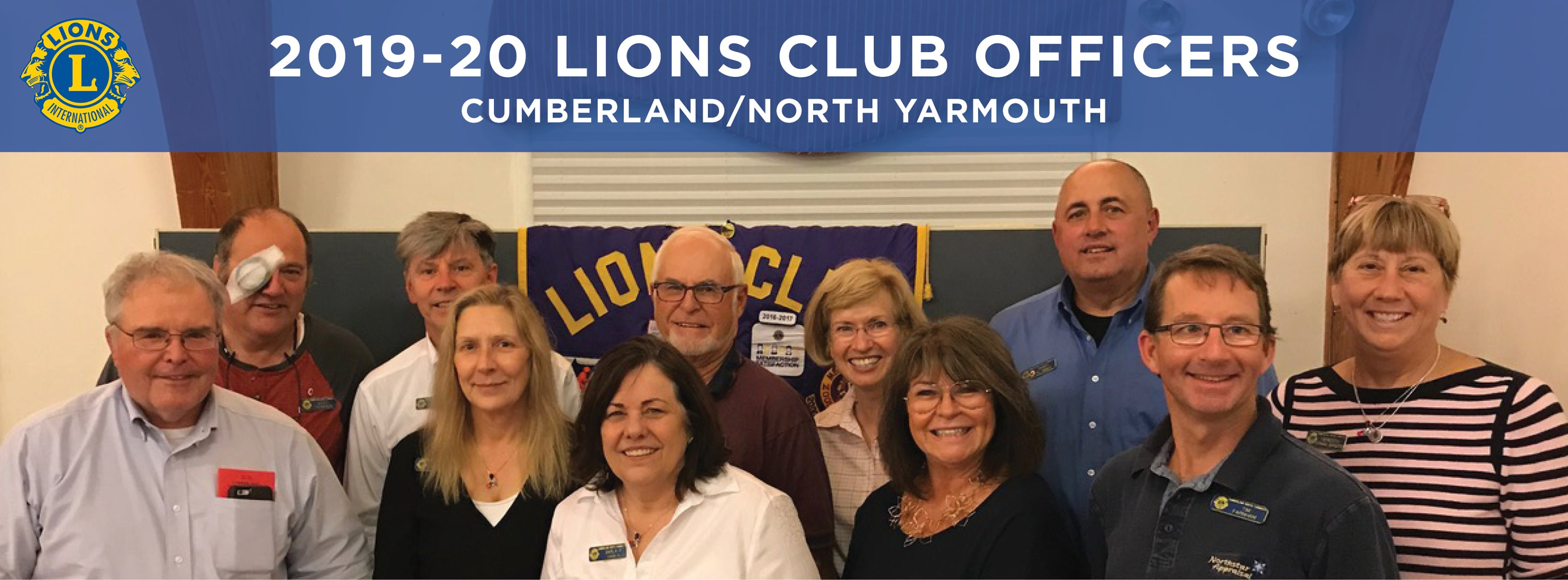 Cumberland North Yarmouth Maine Lions Officers
